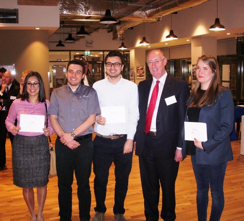 2014 (Sheffield) Prizewinners